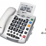 Telefono Amplificato +30dB con SOS