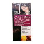 Tintura Senza Ammoniaca Casting Creme Gloss L'Oreal Expert Professionnel Castano