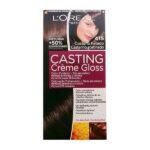 Tintura Senza Ammoniaca Casting Creme Gloss L'Oreal Expert Professionnel Castano freddo